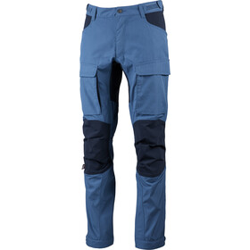 Lundhags Authentic II Pantaloni Uomo, azure/deep blue